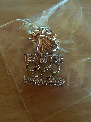 Team GB Olympic Pin Badge London 2012 Athlete Issue! Rare!