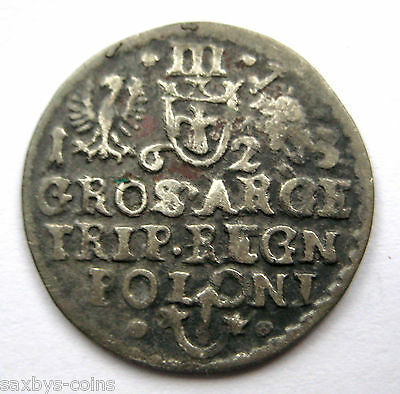 1623 A.D Post Medieval Period European Hammered Type Silver Coin