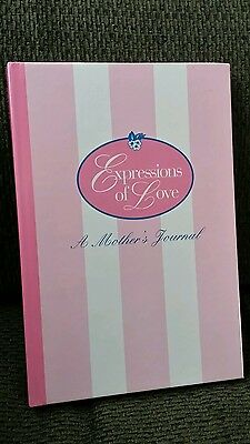 Longaberger Exclusive NEW - 1994 - Expressions of Love A Mother's Journal Lovely