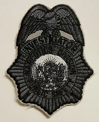 Investigator Narcotics Division Public Safety Cloth Patch