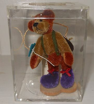 Little Gem Teddy Bear DESIGNED  by SALLY LAMBERT HANDCRAFTED LIMITED EDITION