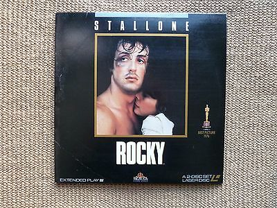 Rocky, Stallone.- 2 Laser Disc