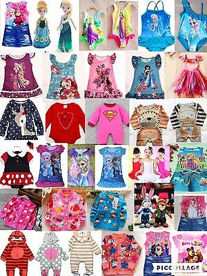 Job lot Brand New Top Quality Children Kids Baby Clothes 100 pieces RRP £1200