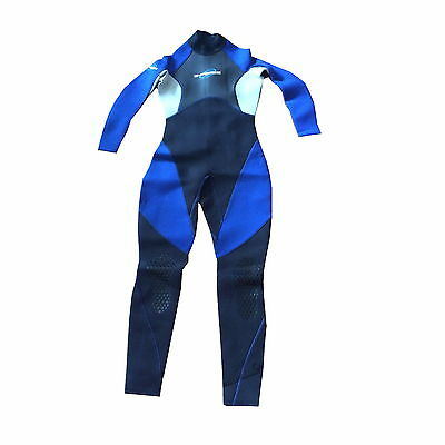 UK SIZE 10 GUL G FORCE LADIES FULL WETSUIT - blue clearance surf beach kayak