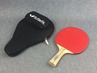 BUTTERFLY Table Ping Pong Paddle Bat and Balls PAUL DRINKHALL