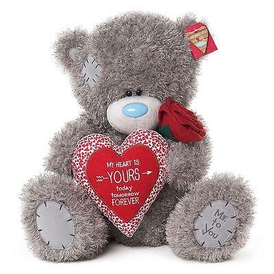 """Me to You Tatty Teddy Large Hearts and Rose Love Bear 20"""" New G01W4221"""