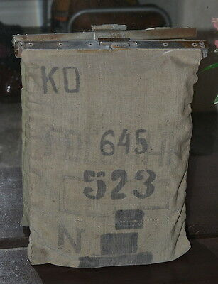 USSR Russian Bank Mony Bag During Transport.