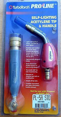 Turbotorch Proline Self Lighting Acetylene Tip And Handle Pl-5A Std