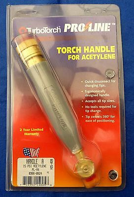 Turbotorch Proline Torch Handle For Acetylene Pl-A4
