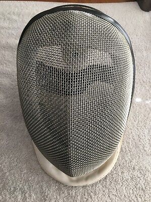 (X) USED PAUL LEON FENCING HELMET MASK 350N Level 1 NO SIZE MARKED MEDIUM? Read