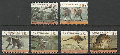 GB STAMPS 6 AUSTRALIA FINE USED FROM BOBBLES BASEMENT @ 60p