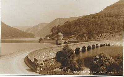 160 RPPC  CAREG DDW ELAN VALLEY UNPOSTED c1930