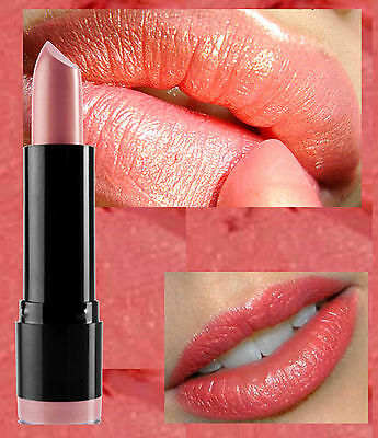 Nyx Round Lipstick - Indian Pink - Peach Pink Gold Shmmer