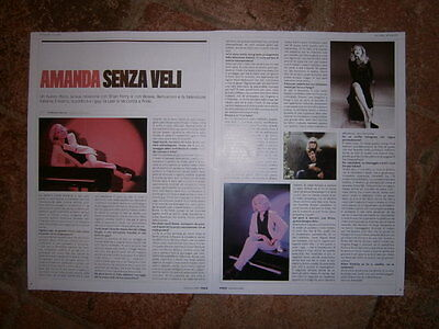 AMANDA LEAR Various Mag Cuttings From Italy&France FULL PAGES ONLY Ex PRIDE MAG