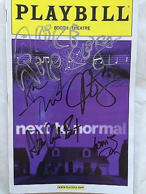 Next To Normal - May 2009 Playbill SIGNED by Ripley, Tveit, Spencer + 3