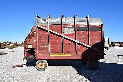 Gehl Bros. Mfg. Forage Silage Wagon