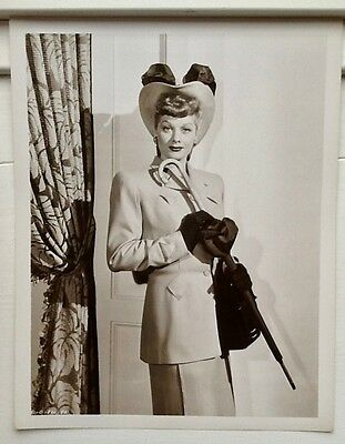 "Lucille Ball; vintage '47 8x10"", The Queen of Comedy in 'Her Husband's Affairs'"