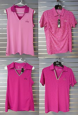 Antigua Women's Golf Apparel; Lot Of 4; Grayhawk Logo; Women's Size M