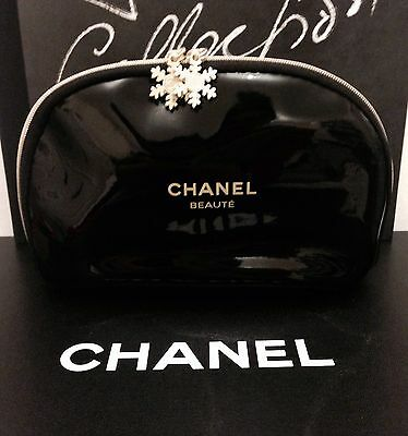 Christmas Chanel Cosmetic Bag VIP Gift