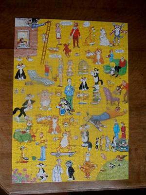 The Funny Side of Cats - 1000 piece jigsaw