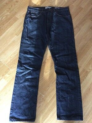 Mens Blue Jeans From M&s Size W34 L33