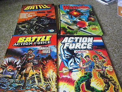 Warlord Book 1981 Action force Battle Action Force 1985 Battle Picture weekly 81