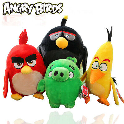 """Movie Action figure Feature 17cm/7"""" Angry Birds THE MOVIE PLUSH Toys COLLECTION"""