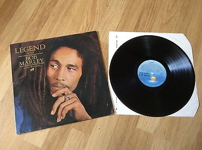 Bob Marley Legend Uk Original In Gatefold Classic Reggae Lp