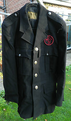 27 area nfs fire tunic small size