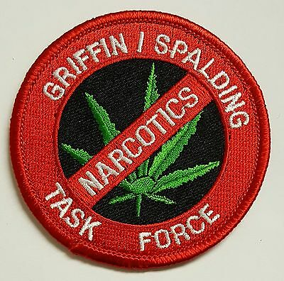 Griffin / Spalding Narcotics Task Force Cloth Patch