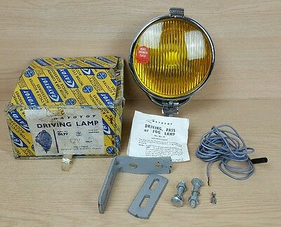 Classic Car Vintage Scooter Vespa Raydyot Driving Lamp Model DL77 New Old Stock