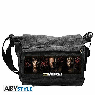 The Walking Dead Rick Daryl and Michonne Messenger Bag, 48 cm,
