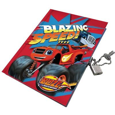 Journal intime Blaze et les Monster Machines carnet secret cadenas Disney clé