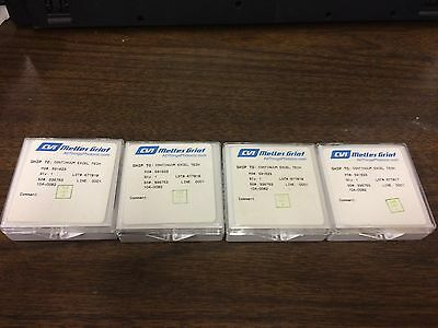 Lot of 4 CVI Melles Griot Continuum Excel 104-0082 Laser Optic