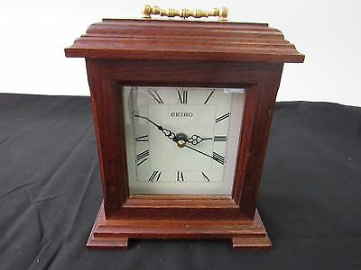 Vintage SEIKO Desk Table Clock Working