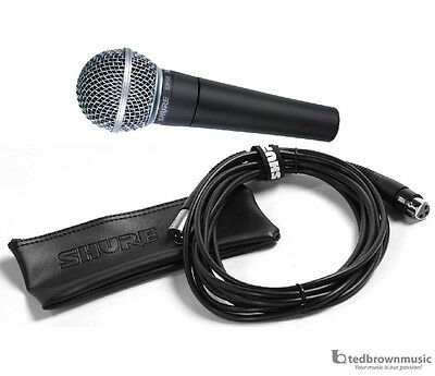 Shure SM58-CN Dynamic Handheld Vocal Microphone with Cable