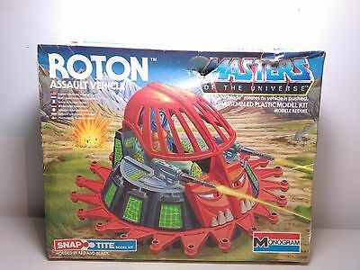 Masters Of The Universe Snap Tite Roton Assault Vehicle Monogram 1984 Model Motu
