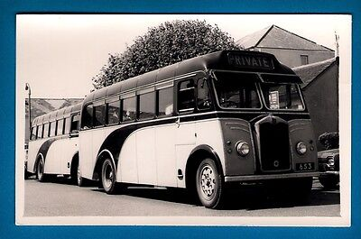 Channel Islands Bus Photo - Watsons Greys 653 - 1939 Albion Victor - Guernsey