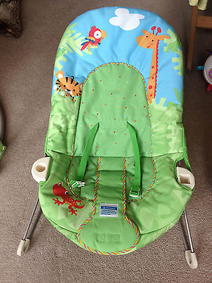 fisher price rainforest bouncer - excellent condition!