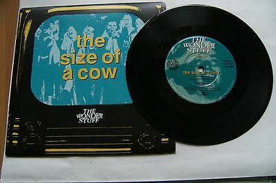 "The Size Of A Cow, Wonderstuff. 7"" single"