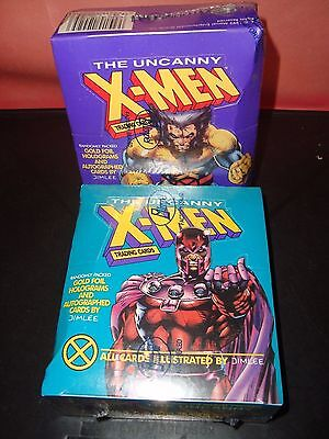X-Men Series 1  Marvel Impel 1992 Trading Cards Box Factory Sealed 36 Packs