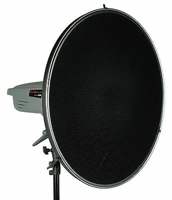 """Pro 22"""" BOWENS Type Beauty Dish for Studio Strobe Light, with Honeycomb Grid"""