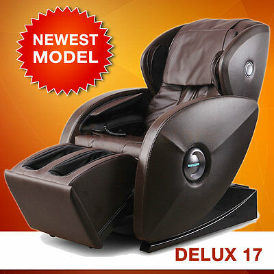 New Zero Gravity Electric Massage Chair 3D Heat Music Foot Calf Arm Body Neck
