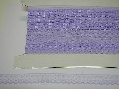 Flat Lace Lilac - 15 metres (133)