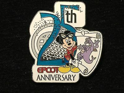 Disney WDW Cast Exclusive Epcot 25th Anniv 2007 Mickey & Figment pin LE 7500