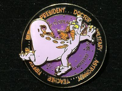 Disney WDW Figment Profession spinner pin LE 2500 from 2003 Dream Series