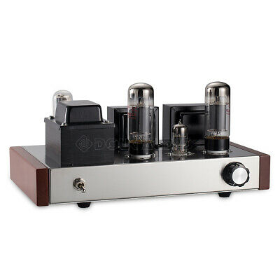 Stereo 6P3P Valve Tube Integrated Amplifier Class A Single-ended Power Amp HiFi
