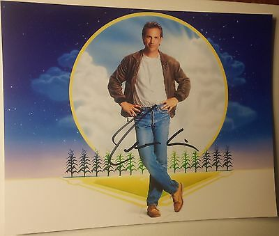 Kevin Costner - Hand Signed 8x10 - Autographed Photo - Hologram coa