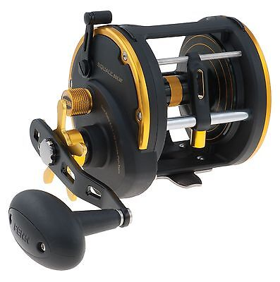 Penn SQUALL SQL50LW Level Wind HT-100 Drag Conventional Reel 1292945