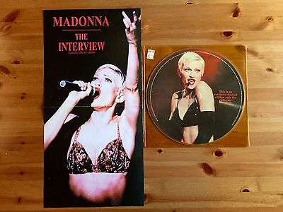Madonna The Interview Limited Edition Picture Disc